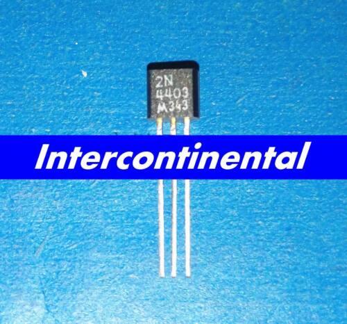 50pcs DIP Transistor 2N4403 4403 MOTOROLA TO-92