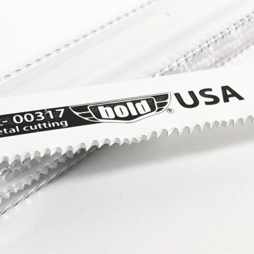 "Bold USA Made 12/"" x 14 TPI Metal Cutting Reciprocating Saw Blades 5 pack"