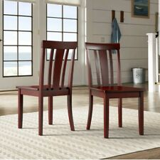Rowyn Wood Dining Fiddle Back Chairs Set Of 2 By