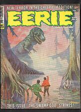 EERIE MAGAZINE #5 G+  (FRANK FRAZETTA  COVER) 1966 WARREN