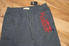 Hollister Herren Sweatpants Rot Blau Größe S Neu mit Etikett
