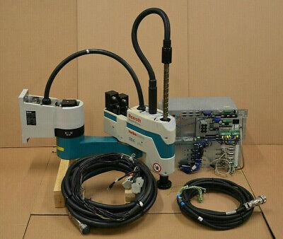 Clever Bosch Rexroth Schwenkarmroboter Turbo Scara Sr6 Plus + Steuereinheit + Kabel(ii)