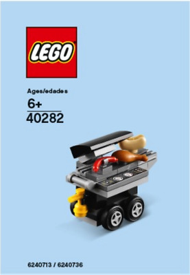 Lego Store BBQ Grill Monthly Mini Build July 2018 Exclusive 40282