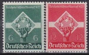 3rd-Reich-Worker-039-s-Competiton-1935-Flawless-MNH