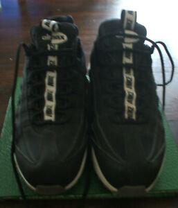 Détails sur NIKE AIR MAX 95 SE : taille 41 chaussures hommes noire, blanche, semelle grise
