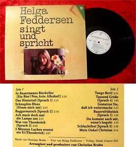 LP Helga Feddersen singt und spricht (1975)