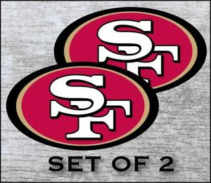 San Francisco 49ers Decal Sticker Graphic Car Truck 2 Sizes
