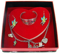 Ed Hardy Box Womens Gift Set - Necklace, Earrings & Cuff Bracelet