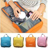 Travel Cosmetic Makeup Toiletry Pruse Wash Organizer Storage Large Hanging Bag