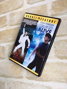 STAYING-ALIVE-John-Travolta-SATURDAY-NIGHT-FEVER-REGION-1-2-DISC-DVD