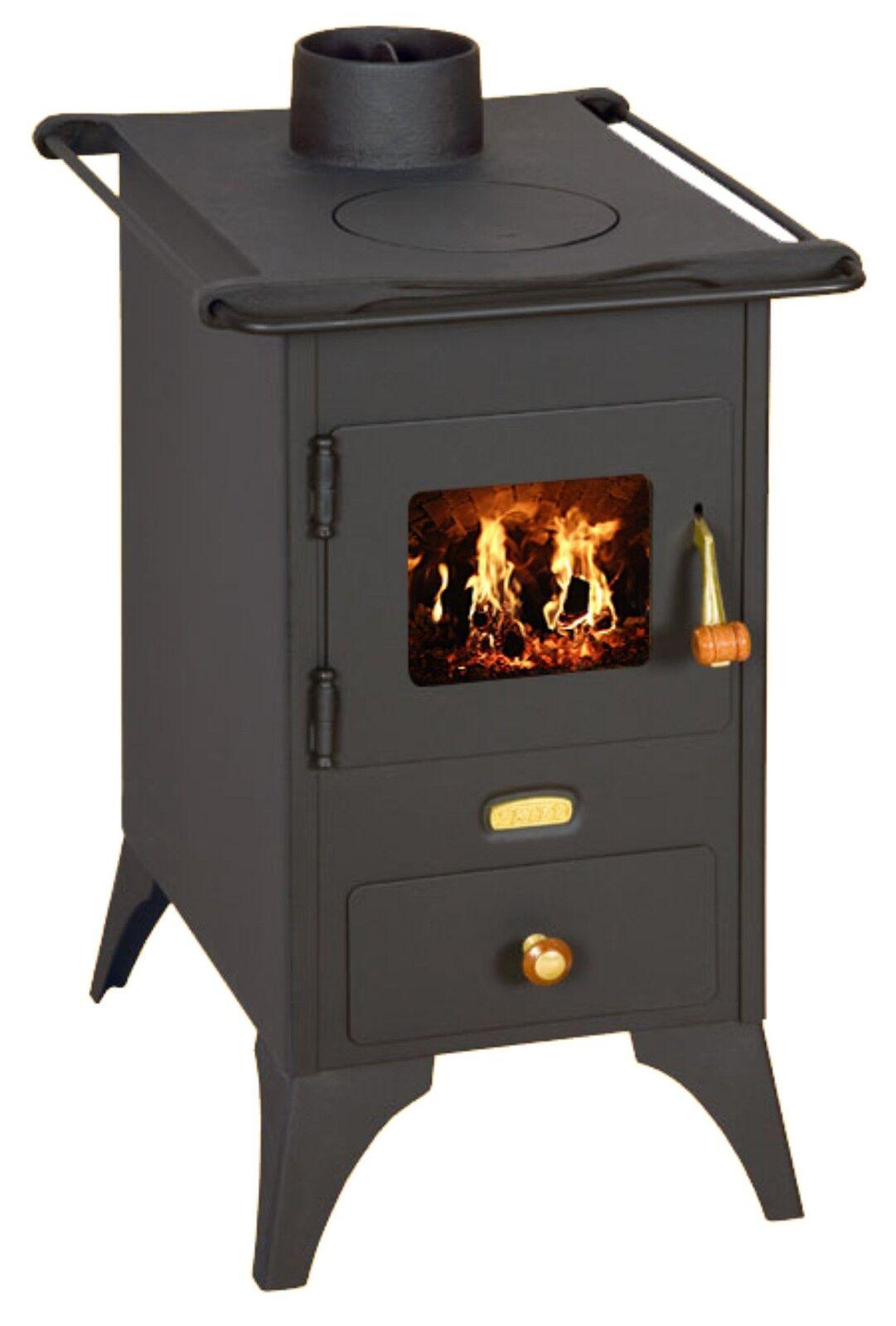 Fabricant Poele A Bois Espagne détails sur poêle à bois rétro fonte assiette brûleur foyer cheminée mini  5kw prity neuf
