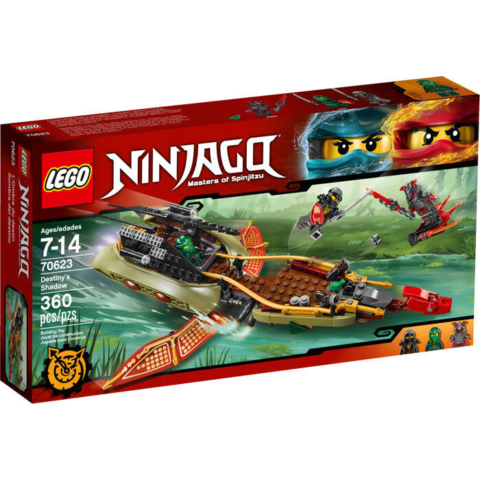 LEGO Ninjago 70623  Destiny's Shadow - Brand New