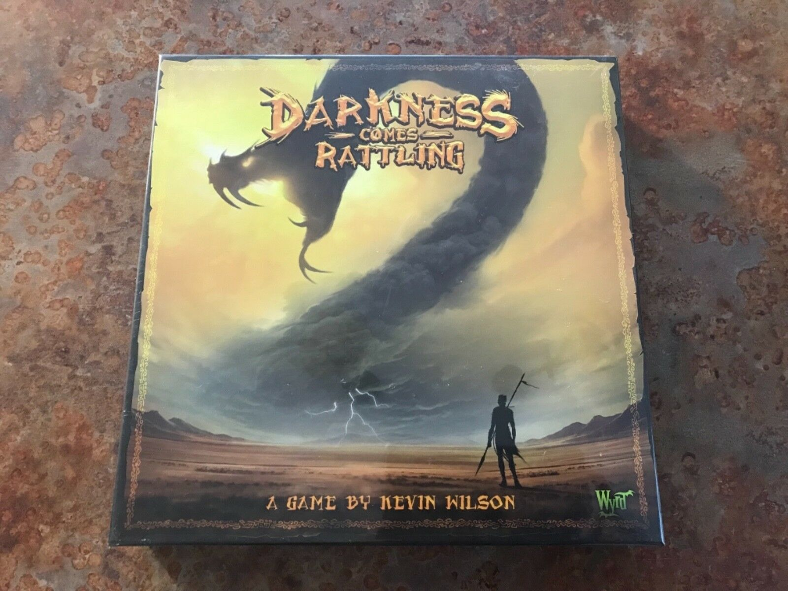 Darkness Comes Rattling Board Game