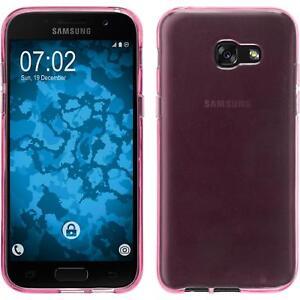 Custodia-in-Silicone-Samsung-Galaxy-A7-2017-trasparente-rosa