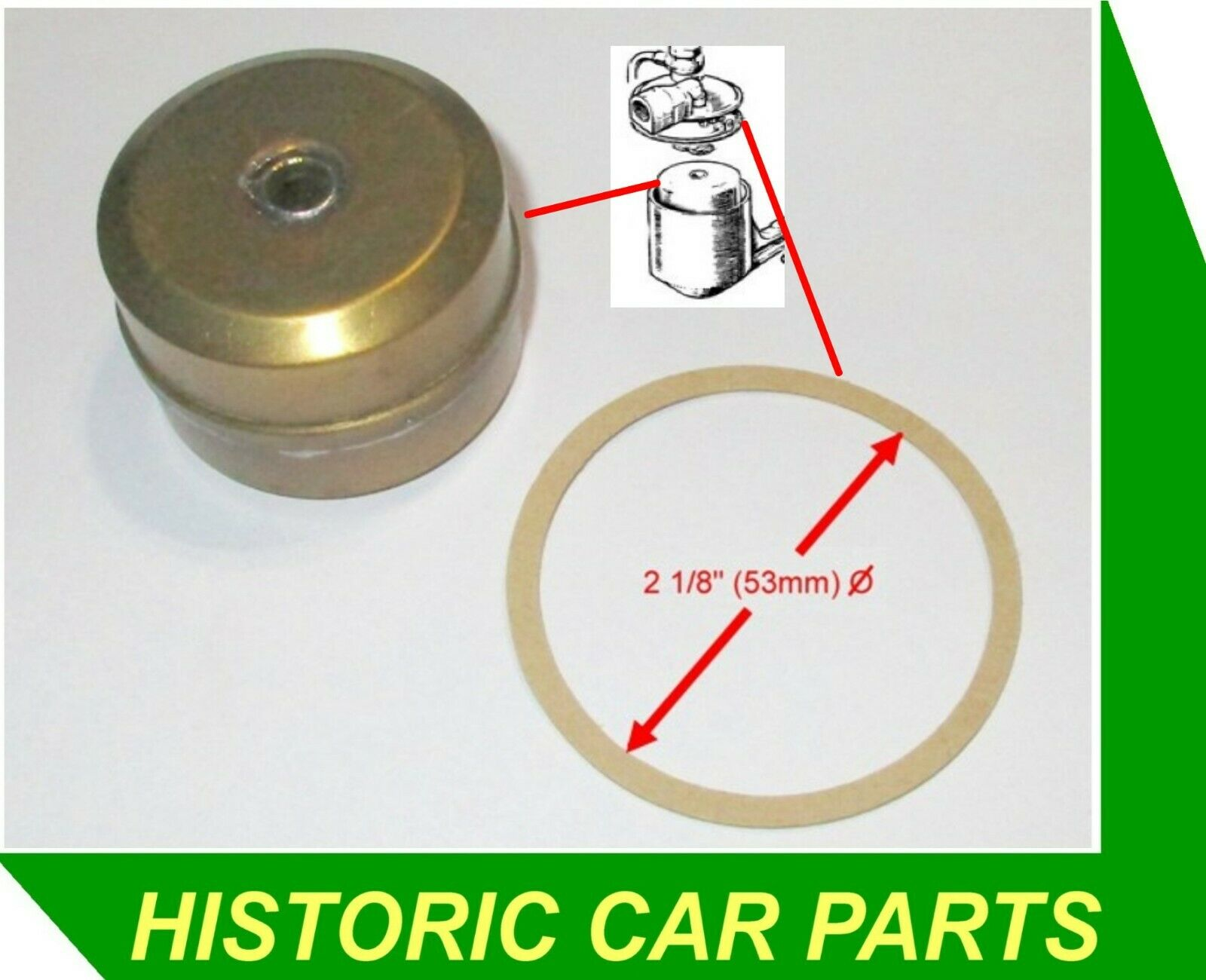 AUSTIN A40 Sports GD2 1950-53 2 x H2 SU Carburettor to Air Filter Gaskets