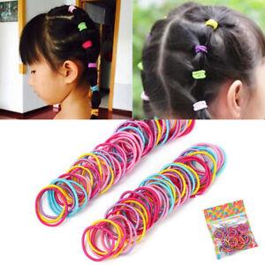 100Pcs-Lot-Cute-Elastic-Tiny-Hair-Tie-Band-Rope-Ring-Ponytail-Holder-Girl-Kids
