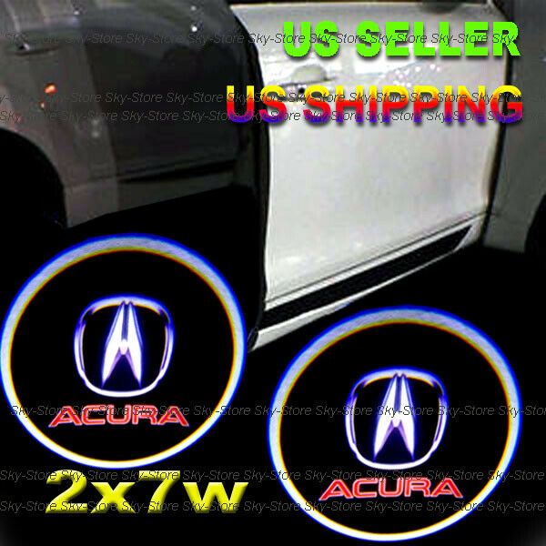 2x7w Ghost Shadow Laser Projector Logo LED Door Step Light