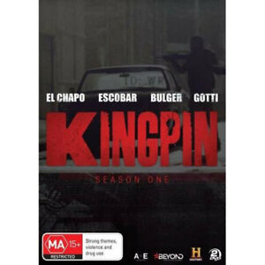 Kingpin-2018-Season-1-History-DVD-NEW-Region-4-Australia
