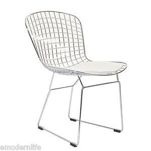 Bertoia Side Chair White