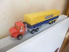 MAJORETTE Série 3000   Camion SCANIA 140 + remorque MICHELIN    1/60