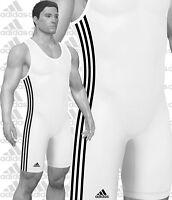Adidas Heavyweight 3-stripe Men's Adult & Youth Boys Wrestling Singlet, As102h