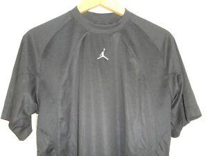 Nike-Air-Michael-Jordan-Training-Jumpman-Short-Sleeve-T-Shirt-Black-S