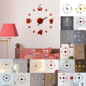 3D-DIY-Roman-Numbers-Acrylic-Mirror-Wall-Sticker-Clock-Home-Mural-DecalsDA