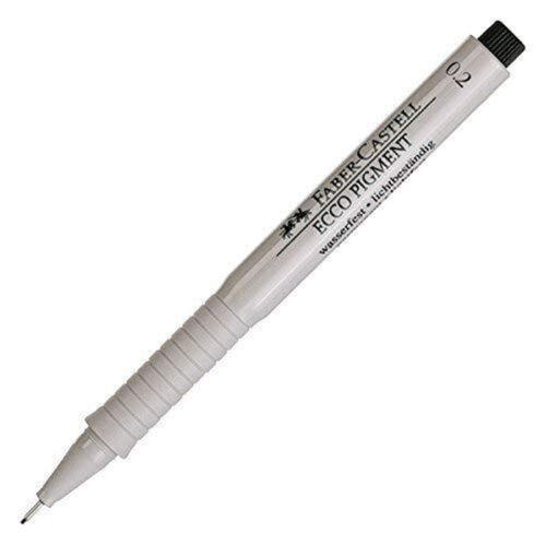 Faber-Castell Ecco Pigment Pen 0.05 //0.1 0.2 0.4 0.5 0.3 0.6//0.7//0.8mm