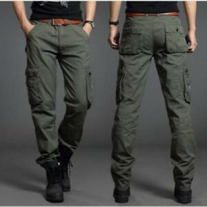 Men S Trendy Cargo Camo Military Combat Tactical Casual Outdoor