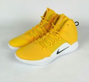 Details zu New NIKE Hyperdunk X TB Mens US 13 Basketball Yellow White Shoes AT3866 701