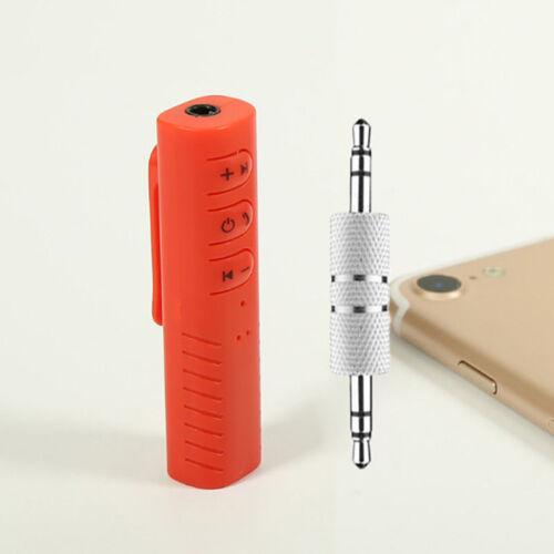 Mini Hands free Wireless Bluetooth Car Kit 3.5mm Jack AUX Audio Receiver Adapter