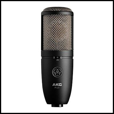AKG P420 High-Performance Dual-Capsule True Condenser Microphone with Case
