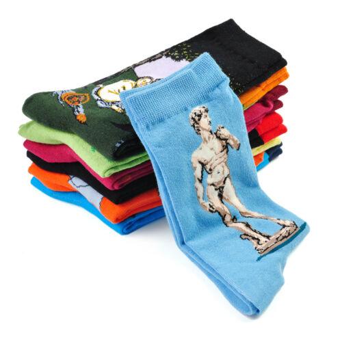 Fashion Famous Painting Art Socks Novelty Funny Novelty For Men Women Cool