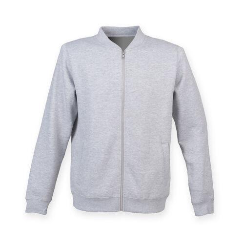 SF Adults Unisex Zip Up Bomber Over Jacket Warm Sweatshirt Lightweight Coat New