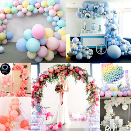 100pcs Balloons+Balloon Arch Kit Set Birthday Wedding Baby Shower Garland Decor