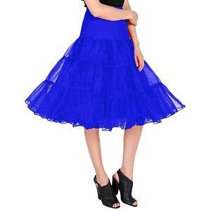 Organza Vintage Skirt Crinoline Petticoat Layers 2 Underskirt 26