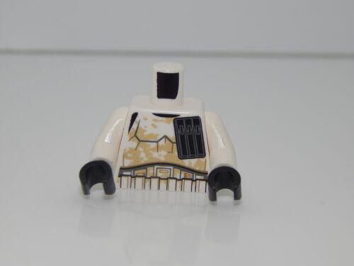 Lego Minifigure Torso Star Wars Stormtrooper Tatooine T78