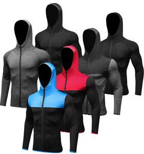 Men-Workout-Hoodies-Hooded-Winter-Running-Athletic-Sportswear-Zip-up-Top-Pockets