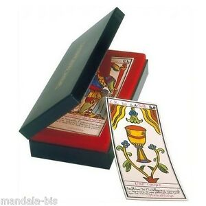 Details about Grand TAROT BELLINE en Coffret Tranche Or (Cartes,  divination, Cards)