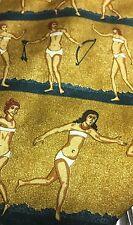 ANCIENT WOMEN NUDE AUDREY BUCKNER SUIT NECKTIE TIE FREE SHIPPING