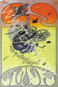 Pink Floyd 1967 Vintage Concert Poster UFO