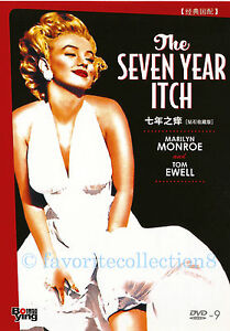 The-Seven-Year-Itch-1955-Marilyn-Monroe-Tom-Ewell-DVD-NEW