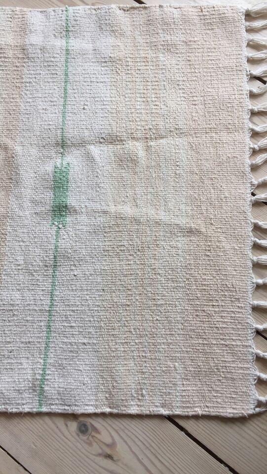 Løse tæpper, ægte tæppe, Bomuld og bomuld trent