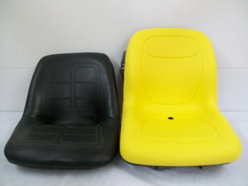 HIGH BACK YELLOW SEAT FITS 650,750,850,950,/& 1050 JOHN DEERE COMPACT TRACTOR #EK