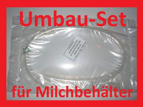 MILCHSCHLAUCH SET für Milchbehälter der DeLonghi EC 850.M Schlauch Magnifica