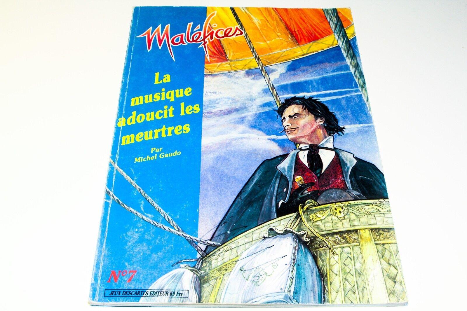 MALEFICES - LE JEU DE ROLE QUI SENT LE SOUFRE - LA MUSIQUE ADOUCIT LES MEURTRES
