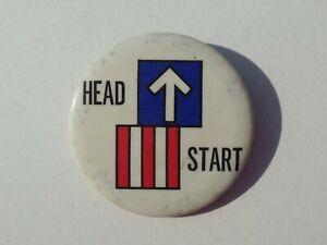 Head-Start-Button-Vintage-Logo