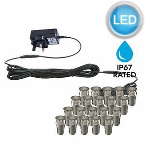 SET-OF-20-15mm-IP67-ROUND-LED-DECKING-GROUND-PLINTH-LIGHT-KIT