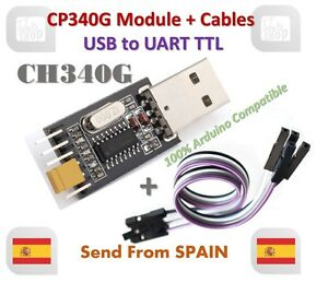 USB-to-TTL-Converter-UART-Module-CH340G-CH340-3-3V-5V-Switch-Cable-for-Arduino