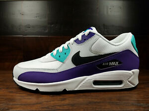 Details about Nike Air Max 90 Essential (White Black Hyper Jade) [AJ1285 103] Mens 8 13